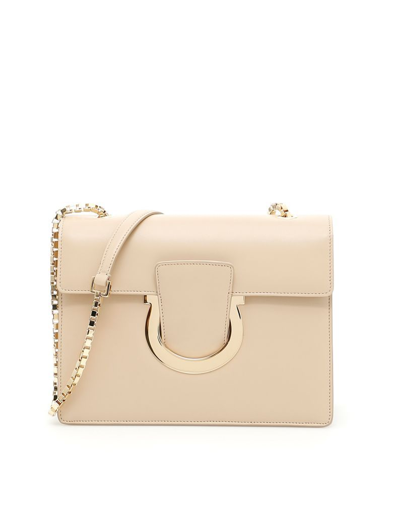 0f7762dfd452 SALVATORE FERRAGAMO Thalia Bag.  salvatoreferragamo  bags  shoulder bags   leather  lining