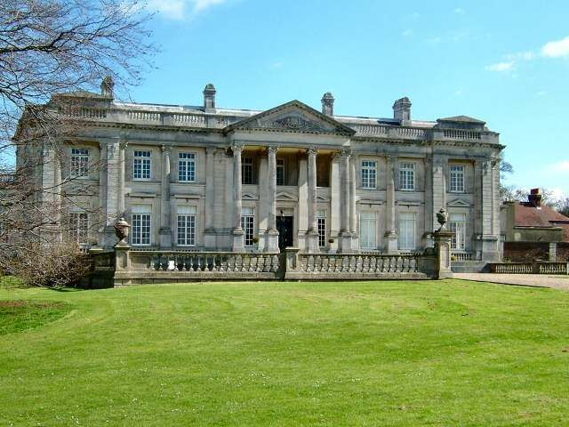 The beautiful Higham Park Palladian style Mansion, with a ... Modern Palladian Architecture