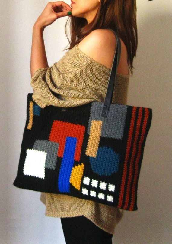 Abstract Bag/New Style/Hand Made/Limited Edition
