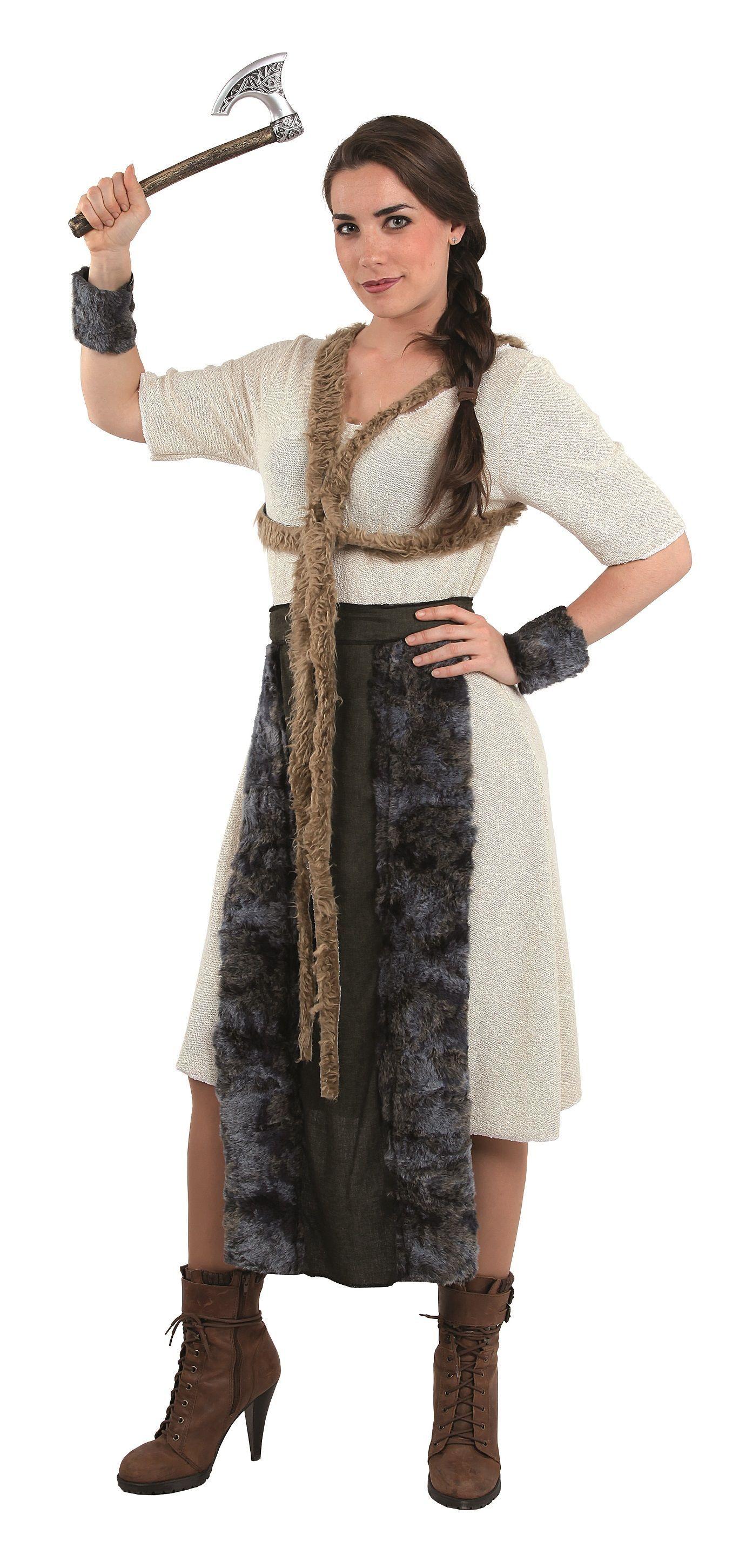617f4f90e Disfraz de valiente guerrera vikinga para mujer en 2019 | Disfraces ...