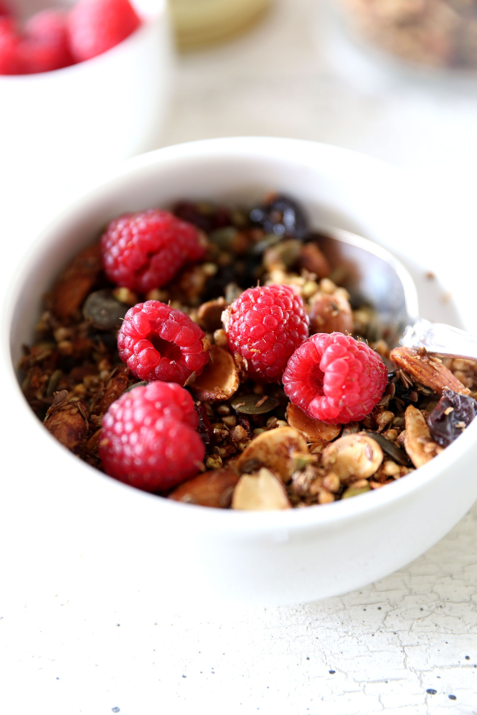 Maple & Pecan Buckwheat Granola | Rebel Recipes