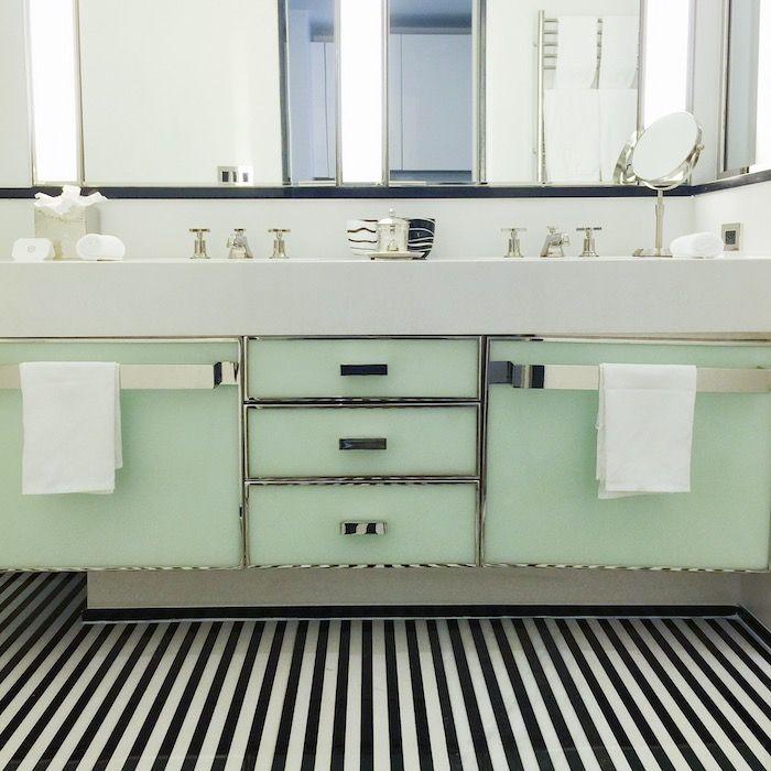farbe mintgün in dem badezimmer bad waschbecken für zwei - farbe fürs badezimmer