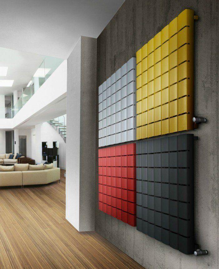 Comment habiller un radiateur - 69 photos avec exemples! - Archzine - Fuite Radiateur Chauffage Maison