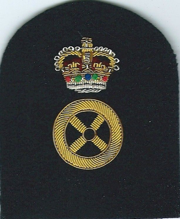 Royal Marines Steering Wheel + Crown: Driver Trade: Gold On
