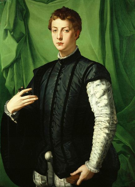 Bronzino: Portrait of Ludovico Capponi by Agnolo Bronzino from Frick Collection, New York, New York