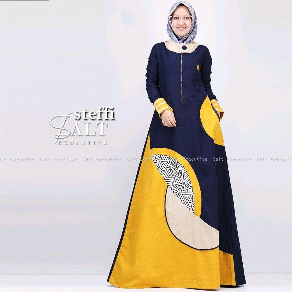 Model Baju Gamis Jubah  Model, Wanita, Baju muslim