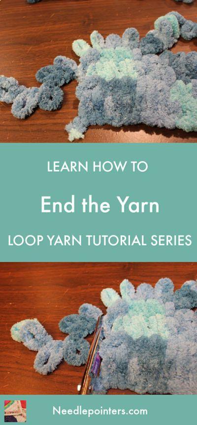 Photo of Loop Yarn Ending Yarn Tutorial | Needlepointers.com