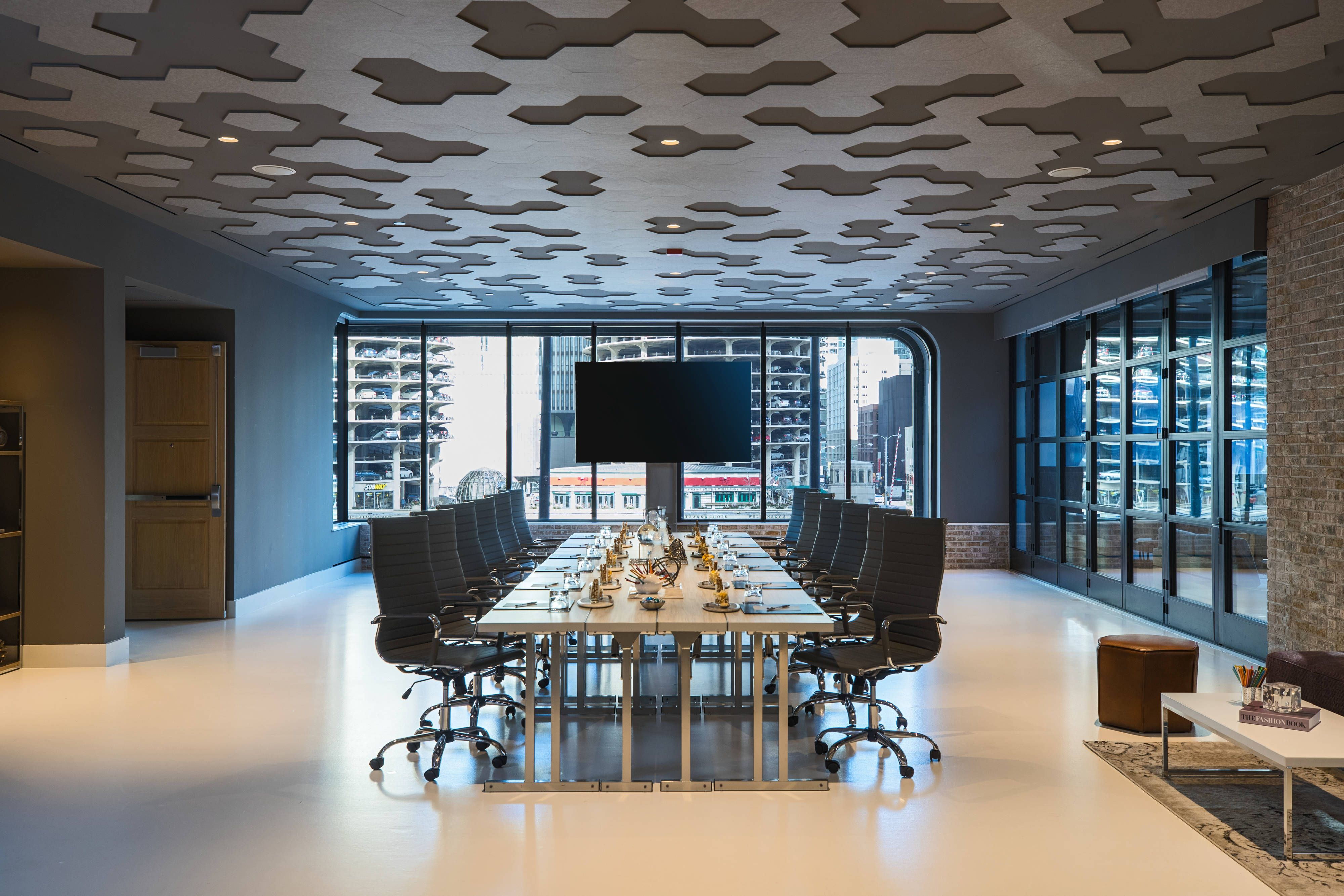 Renaissance Chicago Downtown Hotel Urban Blue Conference Room