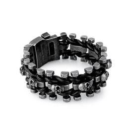 LATICCI ~ Skull Stainless Steel Bracelet