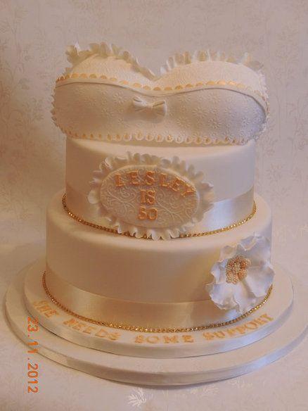 The Bra Cake  Cake by LetsBakeCake