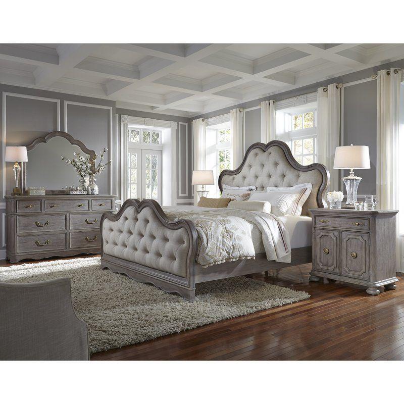 Yasmine Queen Bedroom Set Upholstered Bedroom Set Bedroom Set Upholstered Bedroom