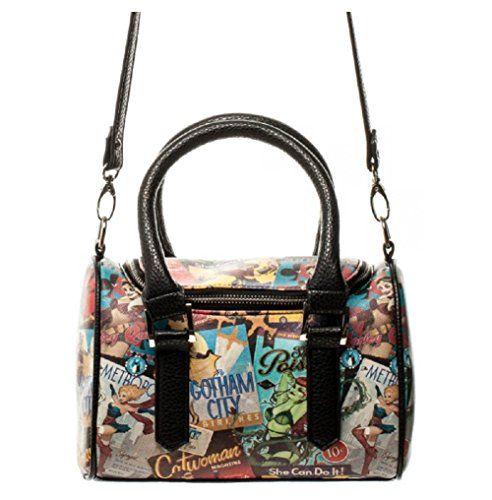Women S Top Handle Handbags Dc Comics Shells Mini Satchel Purse Continue To The