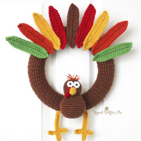 Turkey Wreath ~ Repeat Crafter Me