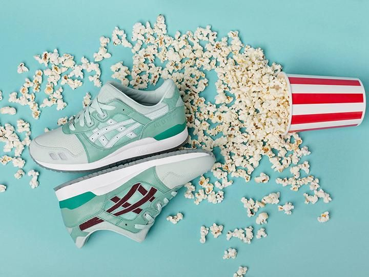 Highs and Lows x Asics GEL-Lyte III 'Silver Screen'