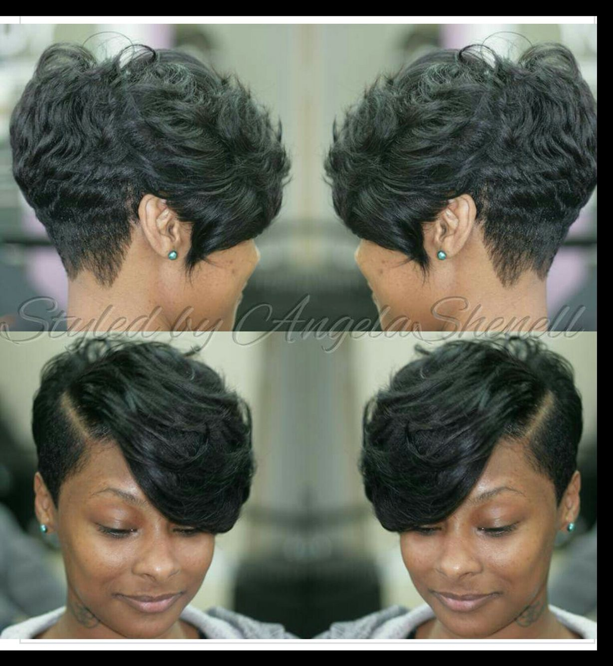 Pin by christie coker on hair creations pinterest short hair