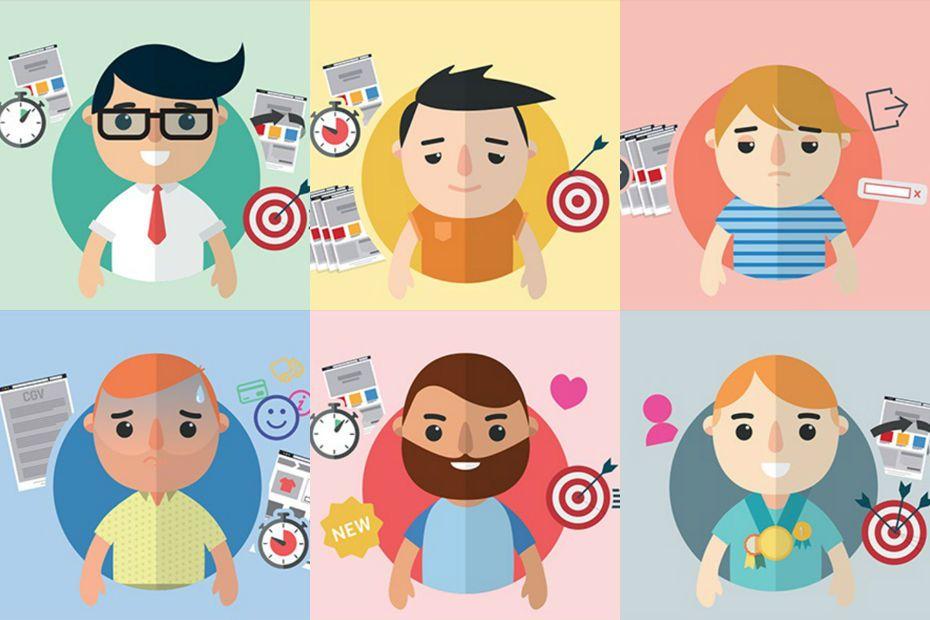 Content Square a identifié 16 profils de clients et prospects dans son étude réalisée en juin et juillet 2015.