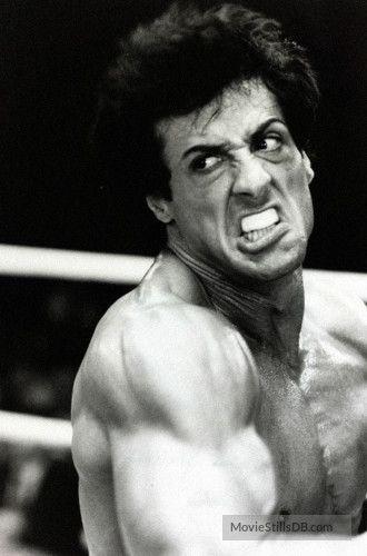 Rocky III - Publicity still of Sylvester Stallone