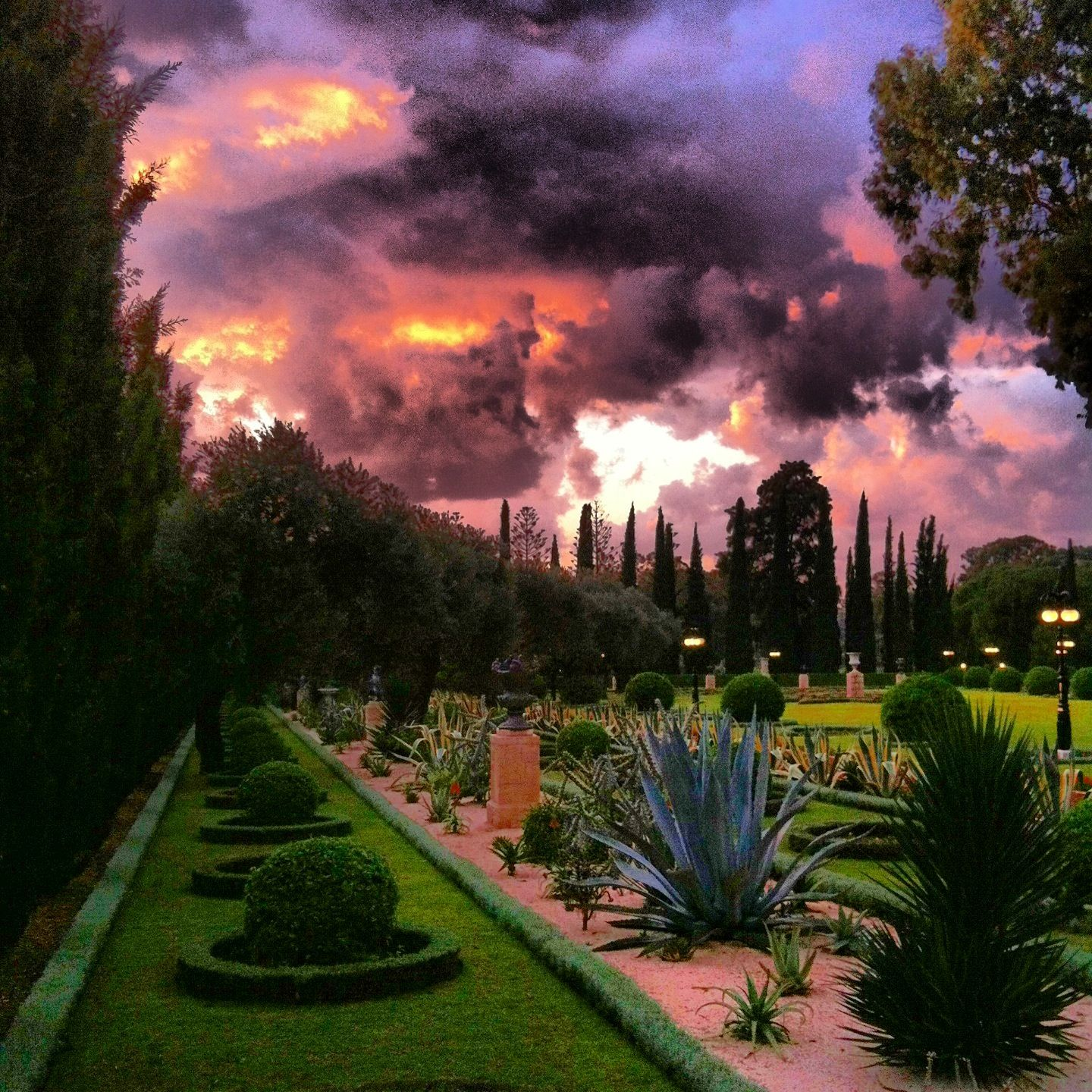 bahai gardens in bahji amazing places i have been