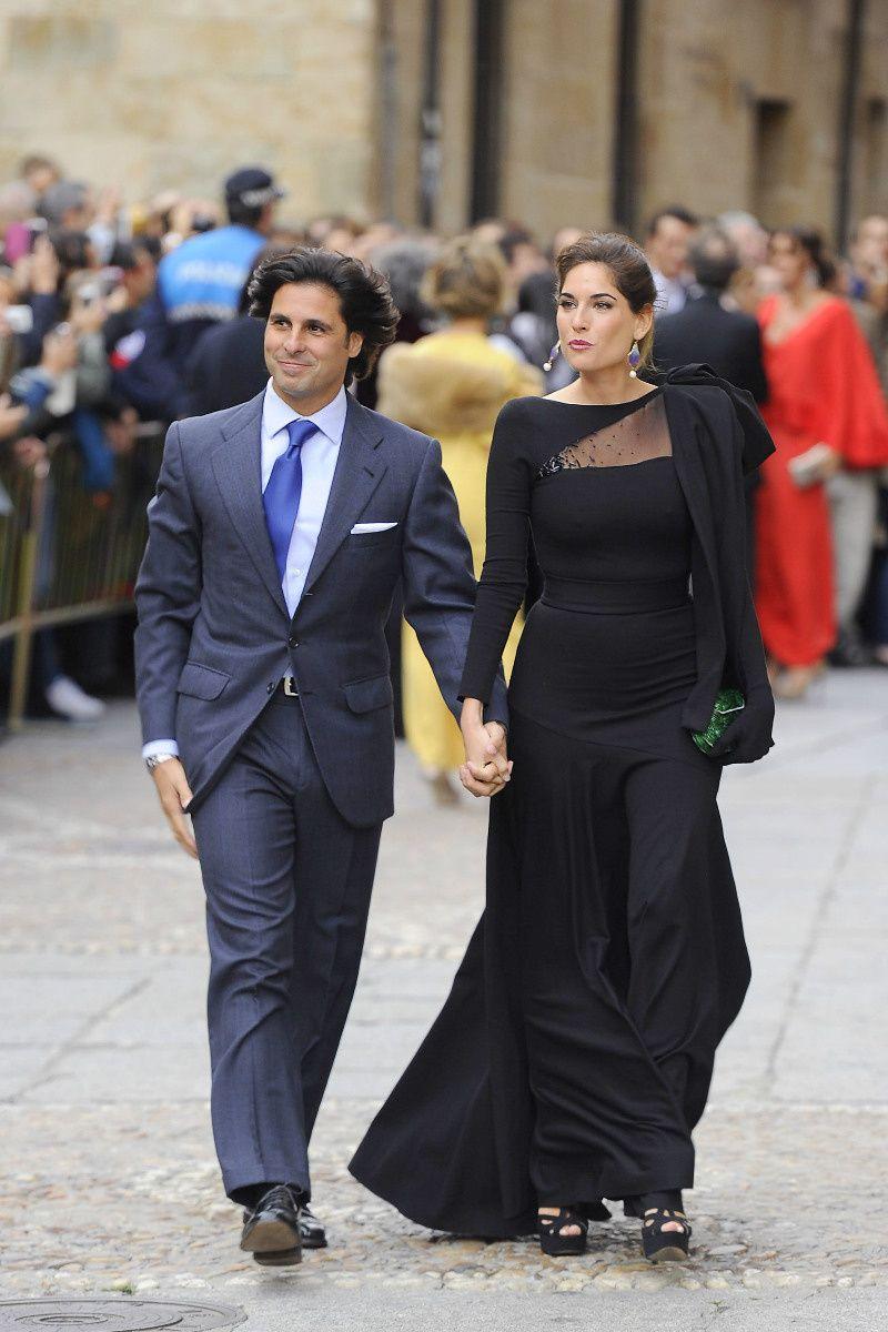 Cayetano Rivera Ordóñez y Lourdes Montes.