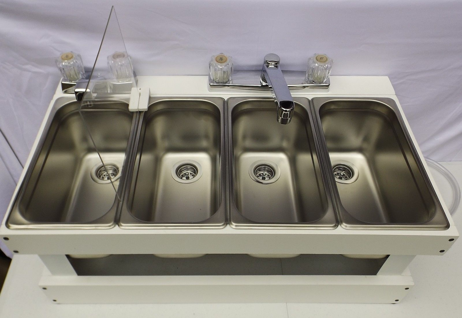 Stainless Steel Sinks For Concession Trailers Items Included 3