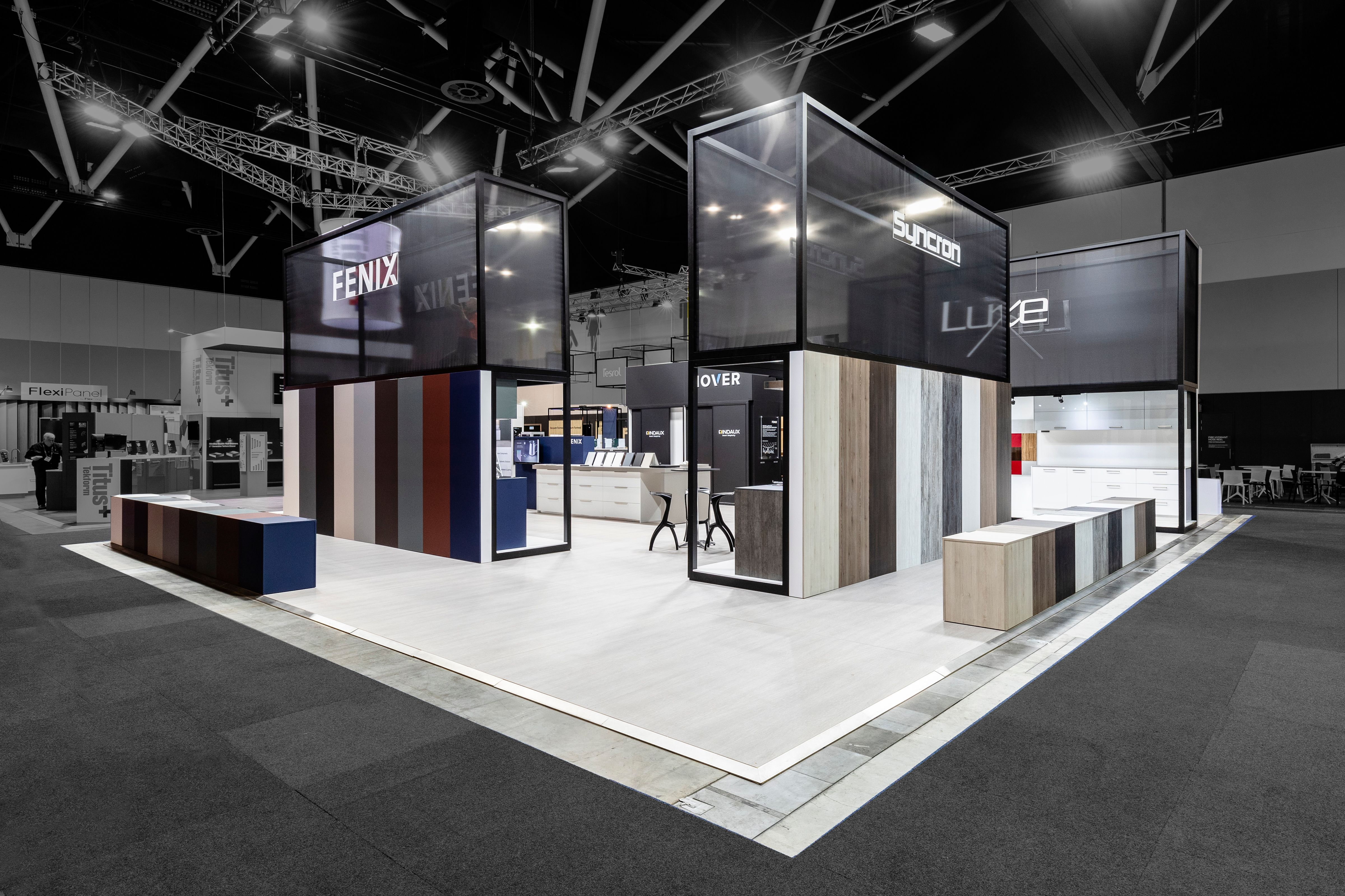 Nover Exhibition Stand At Awisa By Exhibitionco Exhibition Stand Booth Design Exhibition Booth Design