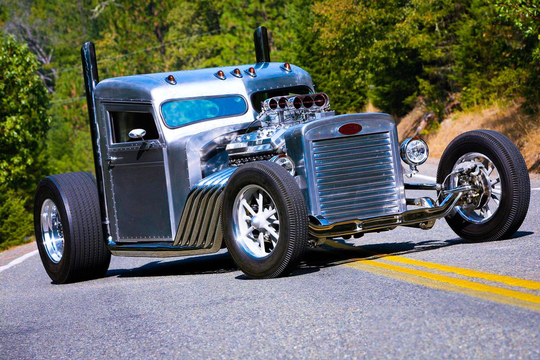 Custom Peterbilt Hot Rod Truck.