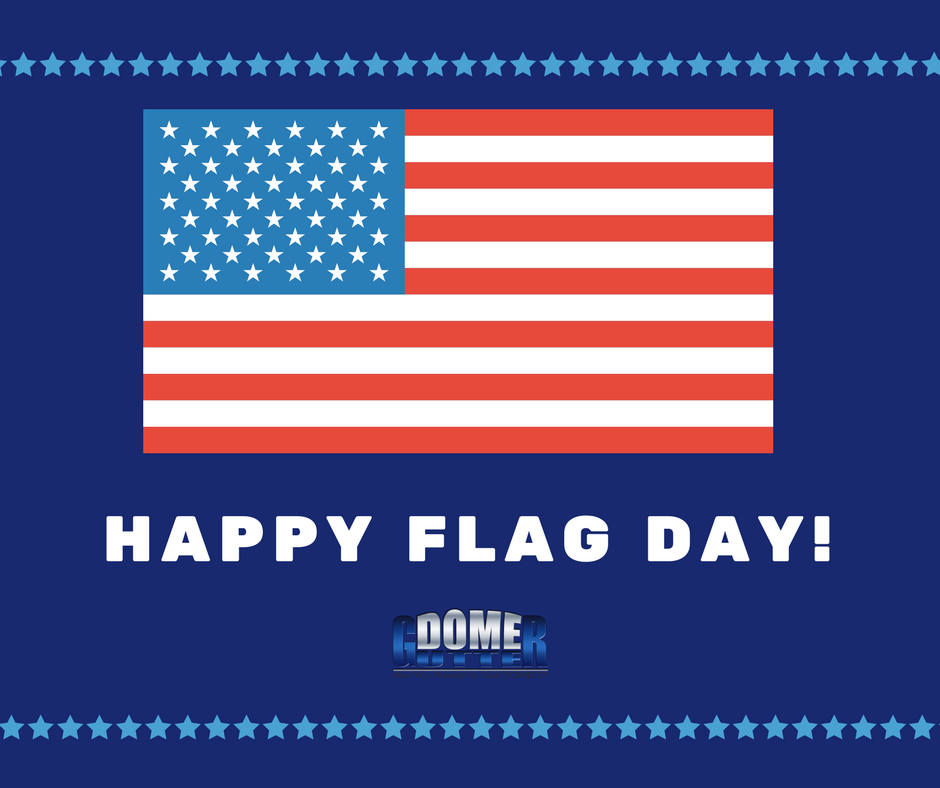HappyFlagDay from GutterDome!!! Cleaning gutters