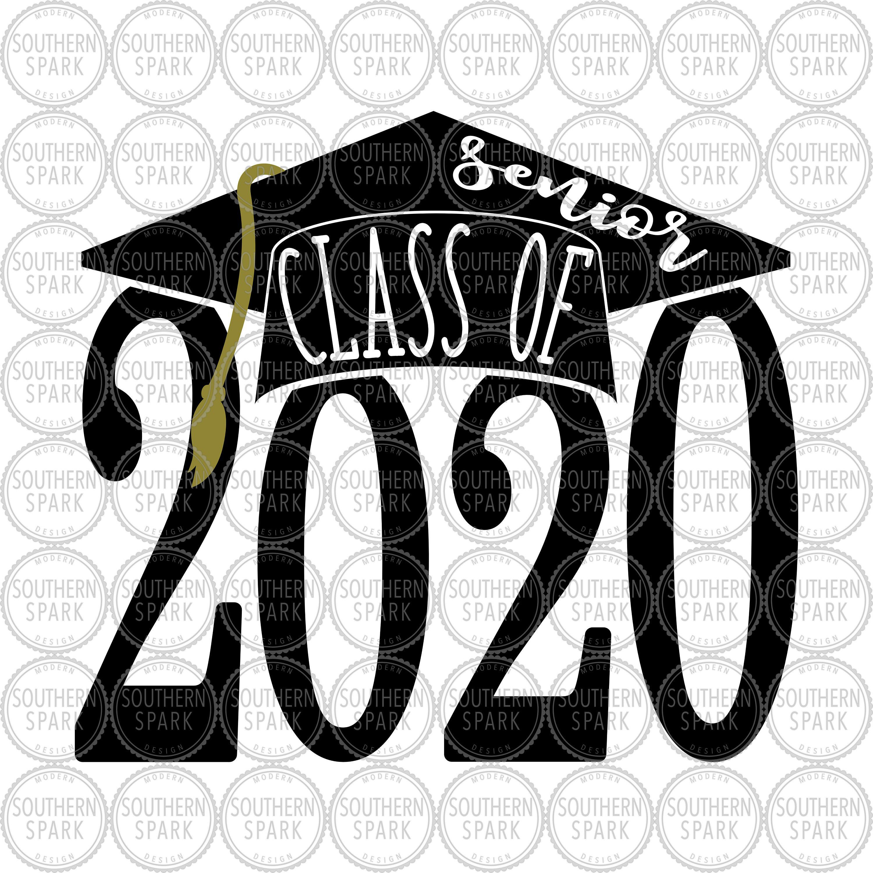 Senior Class Of 2020 svg png eps pdf jpg dxf Back To