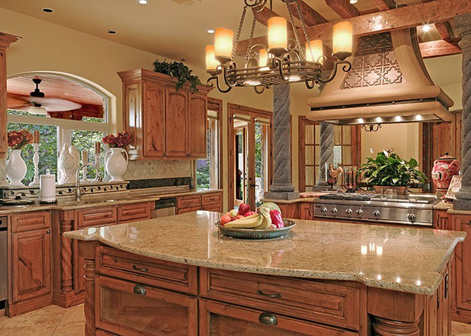Tuscany Style Kitchen Harika Mutfaklar  Kitchens Tuscan Bathroom And Bathroom Designs