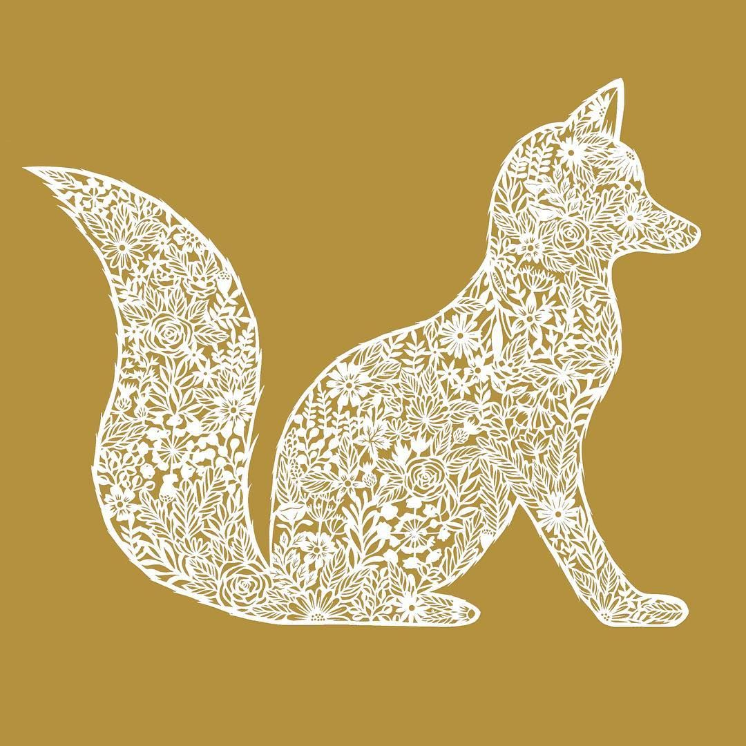 Use Lace Lacy Fox Scrapbooking Pinterest Floating Frame  # Foxy Muebles Encastrables