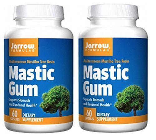 H pylori natural treatment mastic gum