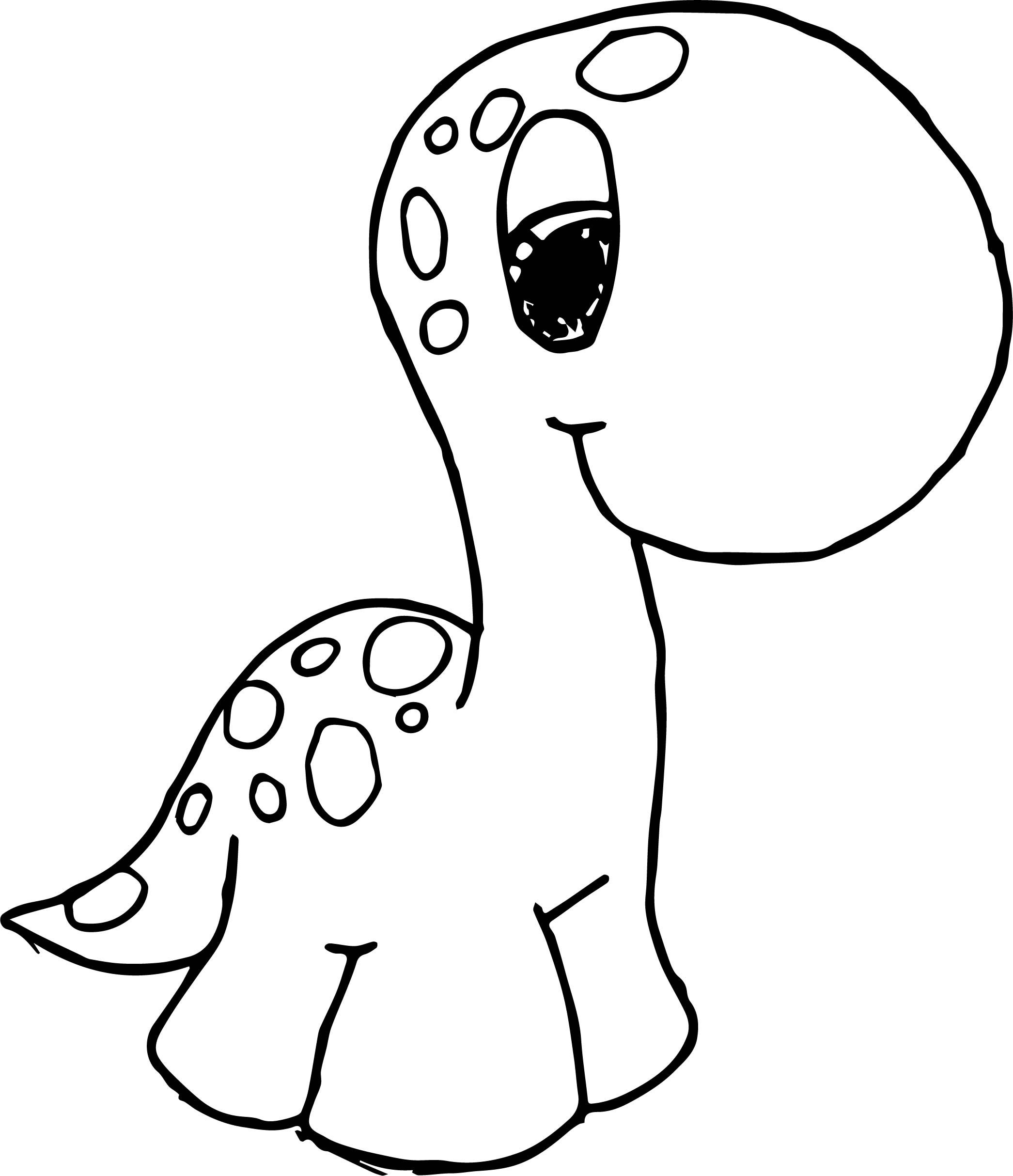 cool Cute Dinosaurs Go Coloring Page (With images) | Cute ...