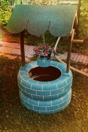 Recycled tire yard decore, ottaman's for Sale in Mobile, AL – OfferUp