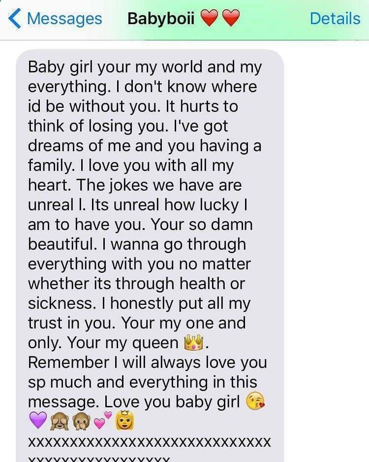 I love you so much relationship goals text