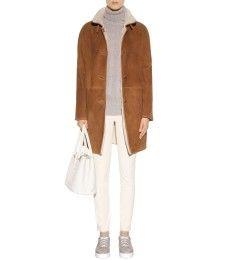 Loro Piana - Spencer shearling coat - mytheresa.com
