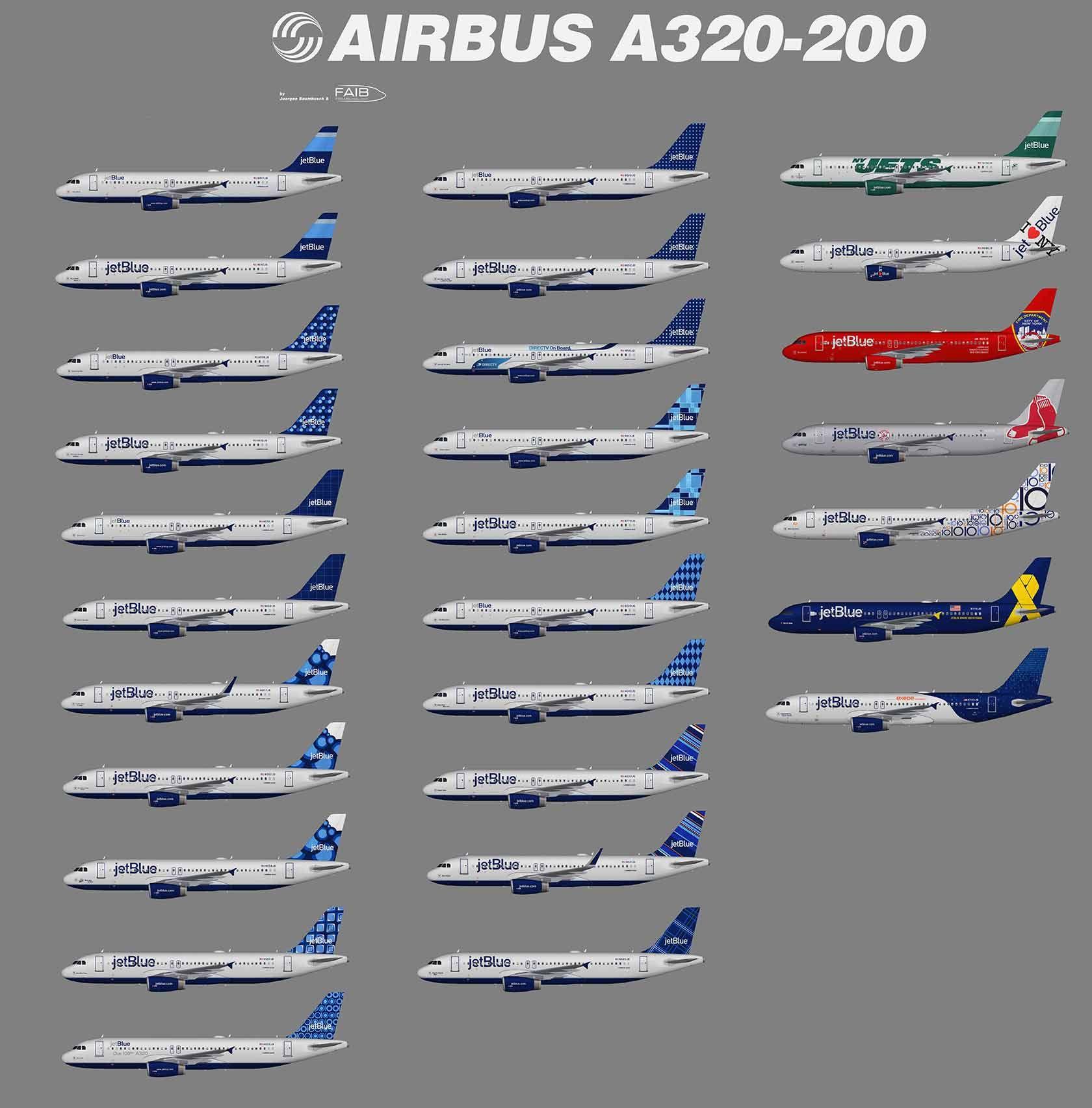jetblue plane seating chart