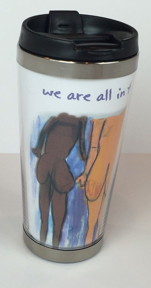 12 oz BPA-Free Stainless Tumbler with Lid We are all in this together™, $19.99