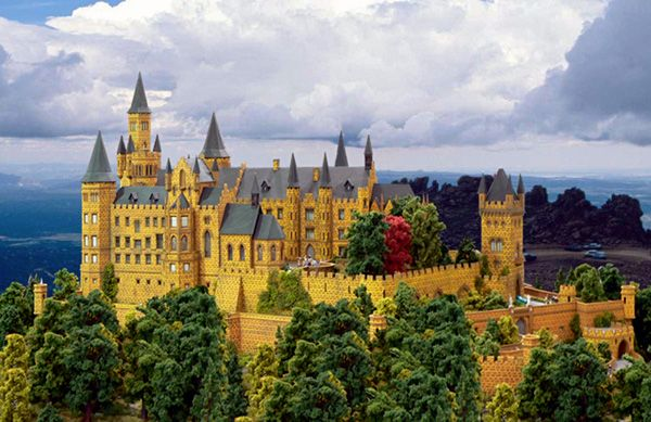 Burg Hohenzollern Hohenzollern Castle Is The Ancestral Seat Of The Imperial House Of Hohenzollern N 1 Germany Castles Hohenzollern Castle Fairytale Castle