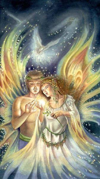 Angelic Eternal God Flames (Twin Flames) | Twin Flames