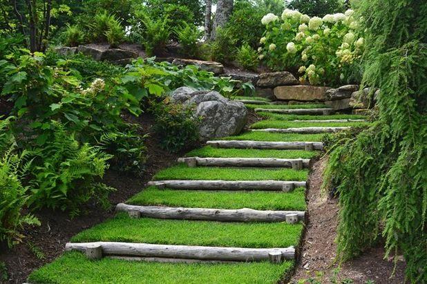 Realizzare scalini in giardino 20 soluzioni da vedere esterni escalier de jardin - Soluzioni giardino ...
