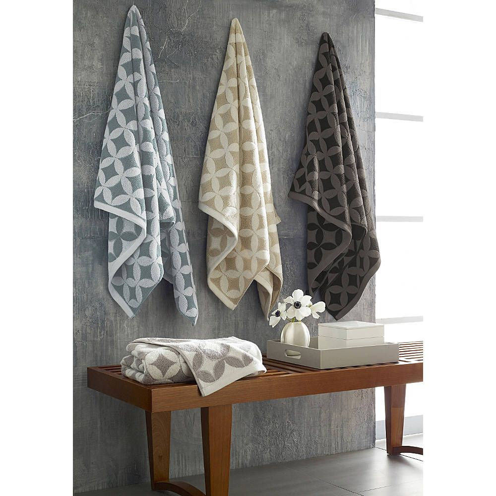 Luxury Bath Towels - Mosaic Tile by Kassatex - CassaDecor | CassaDecor