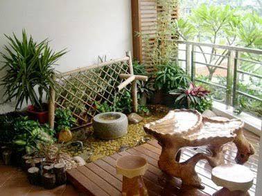 Charmant Aménager Un Coin De Jardin Zen Sur Le Balcon