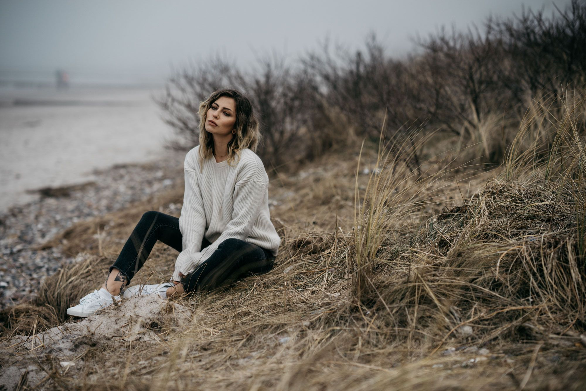 Baltic Sea Fashion Editorial | style: cool, effortless, simple, nature, emotional #editorialfashion