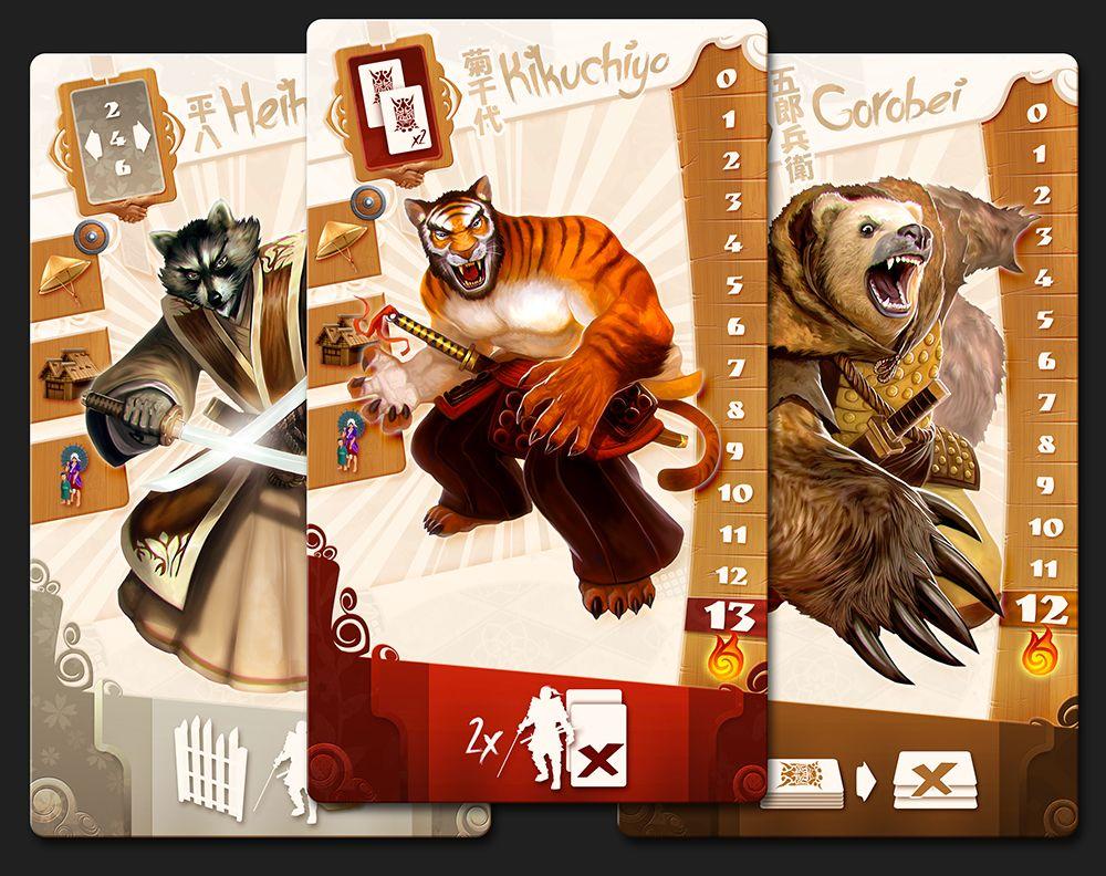 Samurai Spirit | Image | BoardGameGeek | Card Game Design ...