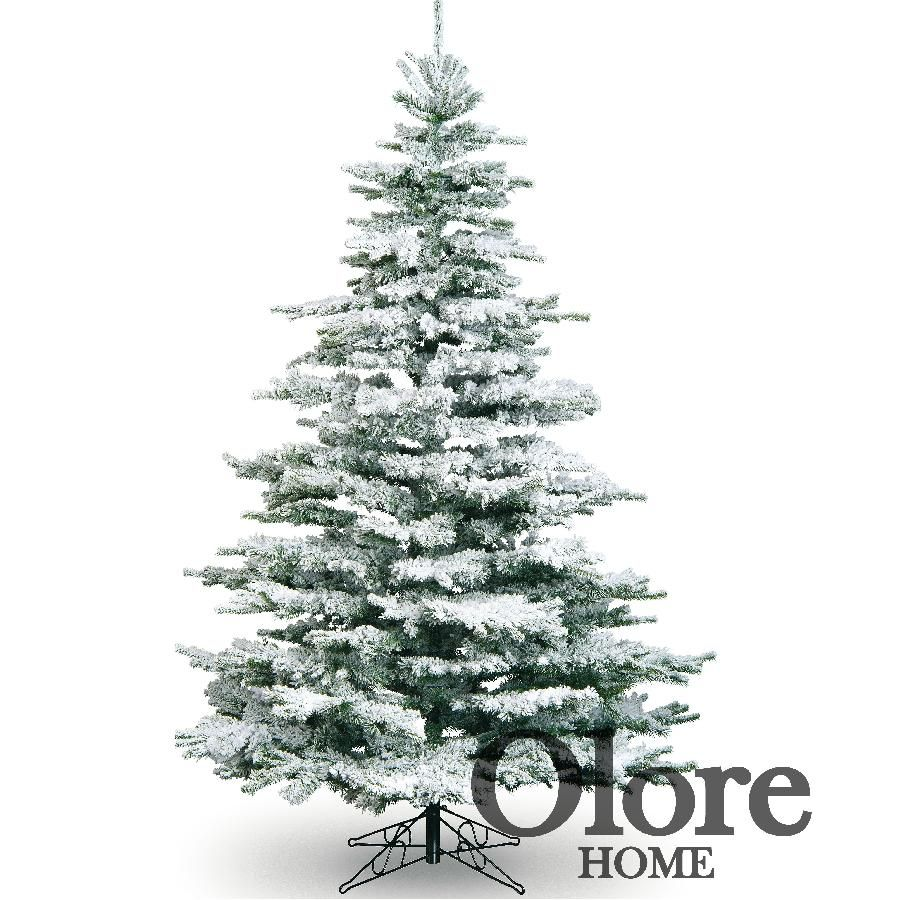 6ft frosted christmas tree flocked noble pine artificial christmas tree - Christmas Trees Artificial