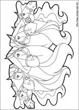 Horseland coloring pages on Coloring-Book.info | Drawing | Pinterest