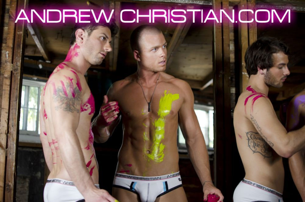 """Andrew Christian Video Behind The Scenes of """"Tag Me"""""""