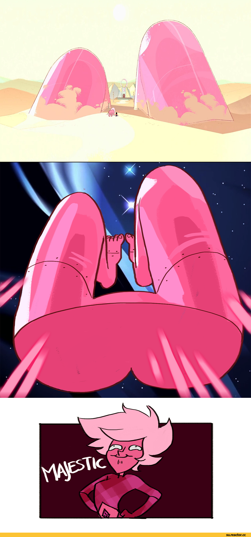 So If Pink Got The Legs Blue And Yellow Have The Arms