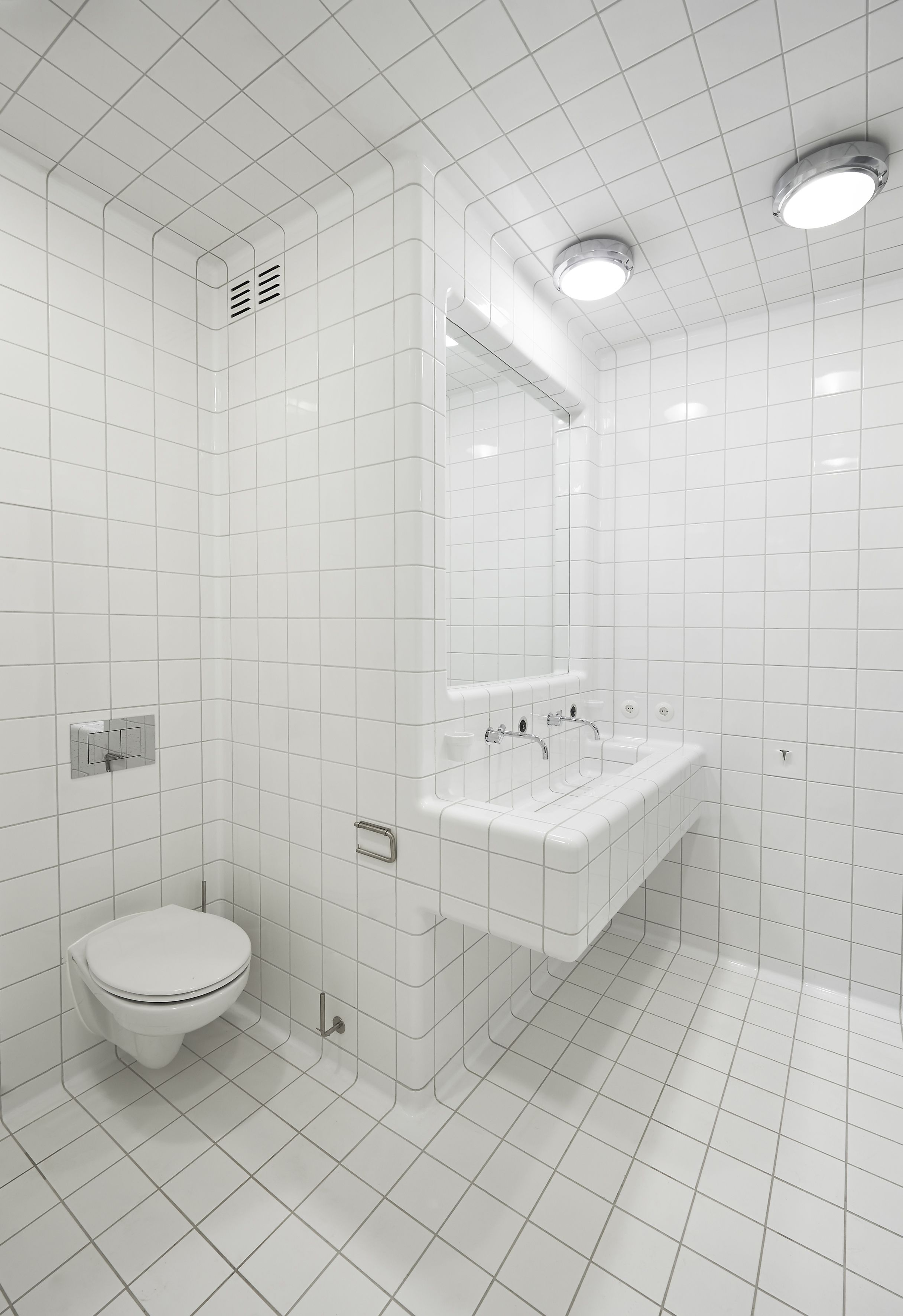 how about tilling your entire bathroom... | Tiles I like | Pinterest ...