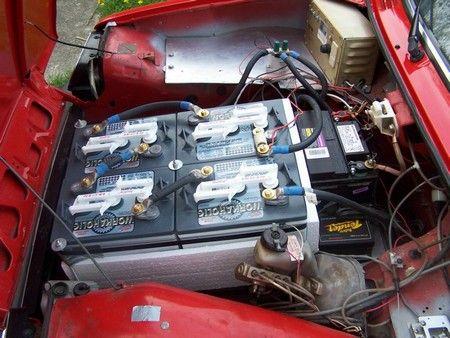 Diy Electric Car Motor Repair Battery Pinterest Diy Electric